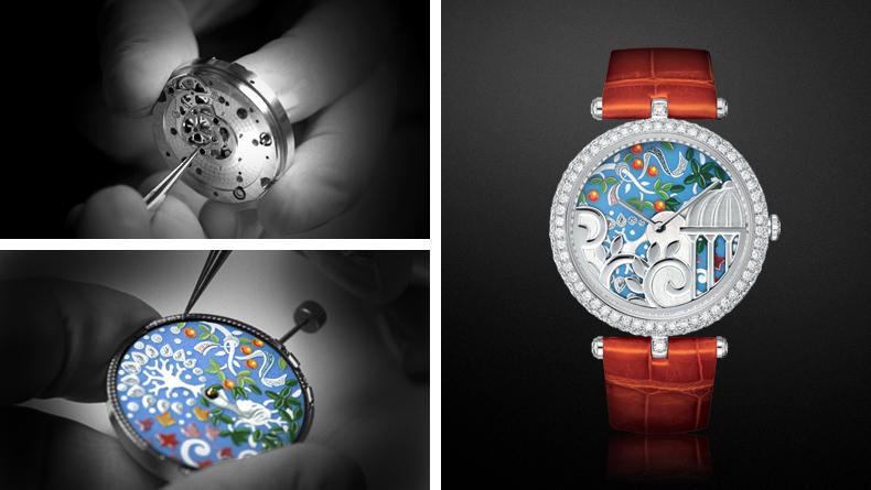 ヴァンクリーフアーペル 腕時計