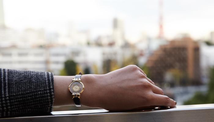 彼女へのクリスマスプレゼント 高級腕時計 ショパール