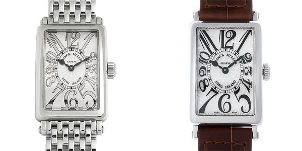 彼女へのクリスマスプレゼント 高級腕時計 フランクミュラー ロングアイランド