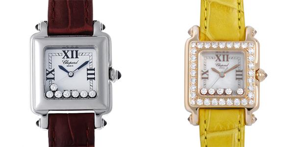 彼女へのクリスマスプレゼント 高級腕時計 ショパール ハッピースポーツ
