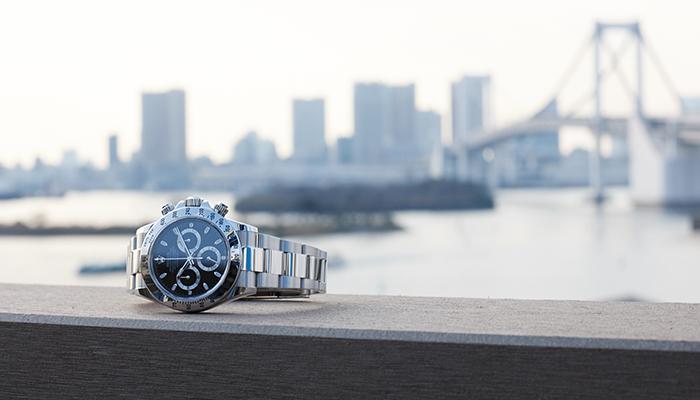 腕時計の使い方