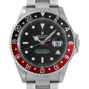 ロレックス GMTマスターII 赤黒ベゼル 16710