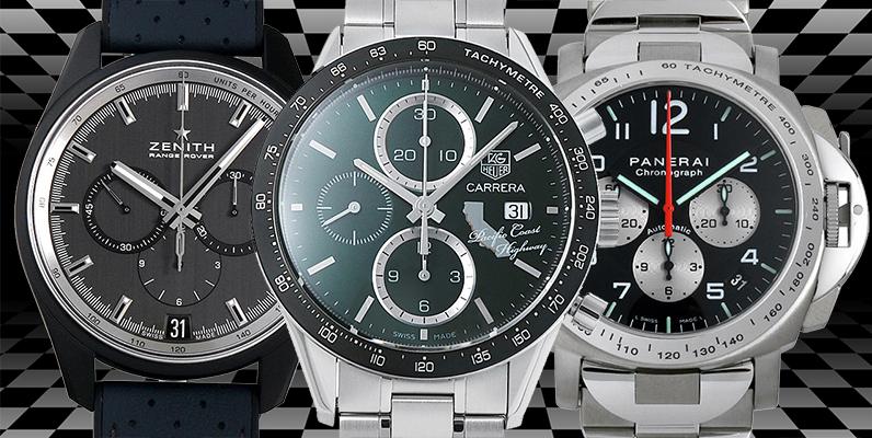 高級時計×モータースポーツ コラボモデル20選