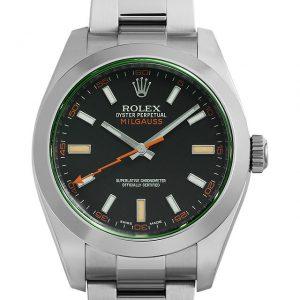 ロレックス 116400GV ブラック 定価