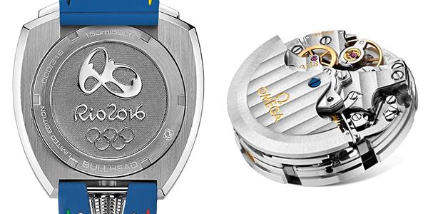 オメガ リオオリンピック限定モデル 522.12.43.50.04.001