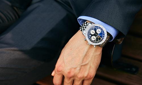 ビジネス時計 ブライトリング ナビタイマー