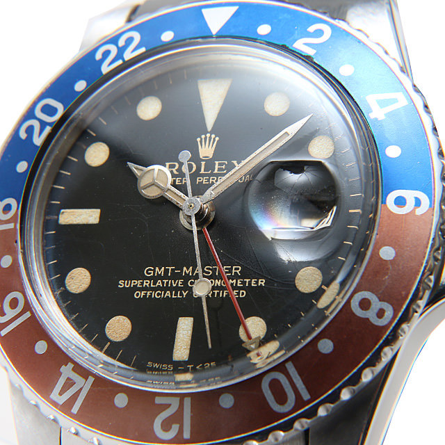 アンティークロレックス GMTマスター 1675