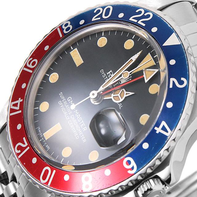 アンティークロレックス GMTマスター 16750 フチなし
