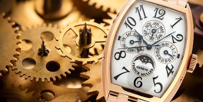 パーペチュアルカレンダー(永久カレンダー) の時刻の合わせ方