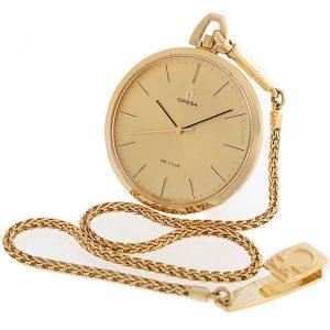 オメガ デビル 懐中時計