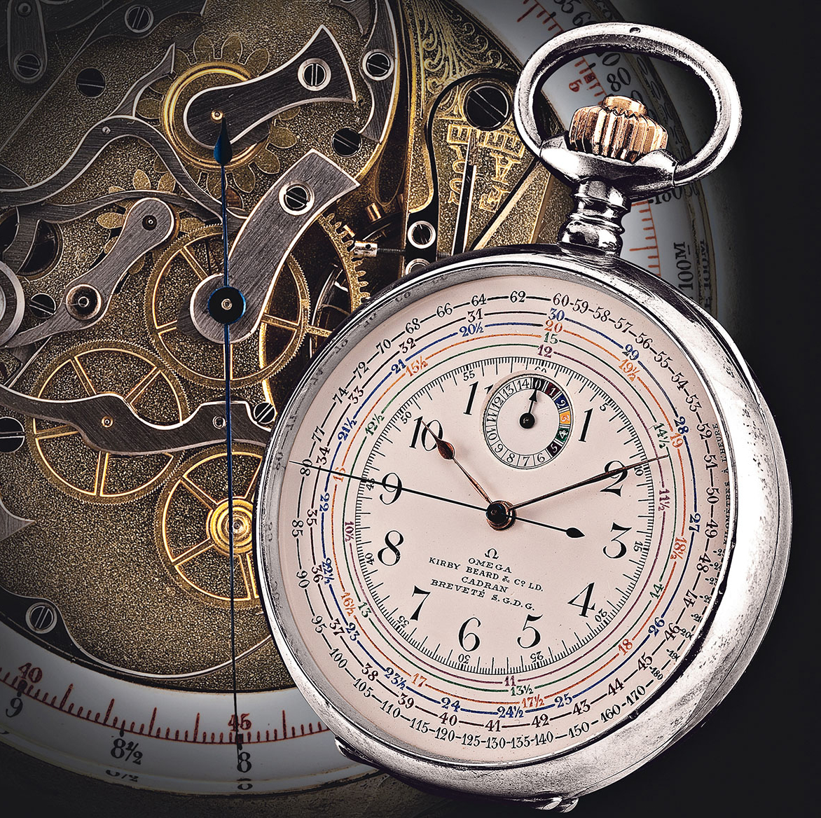 オメガ 懐中時計