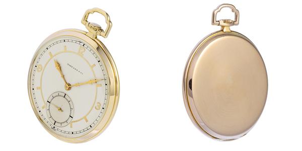 ティファニー 懐中時計