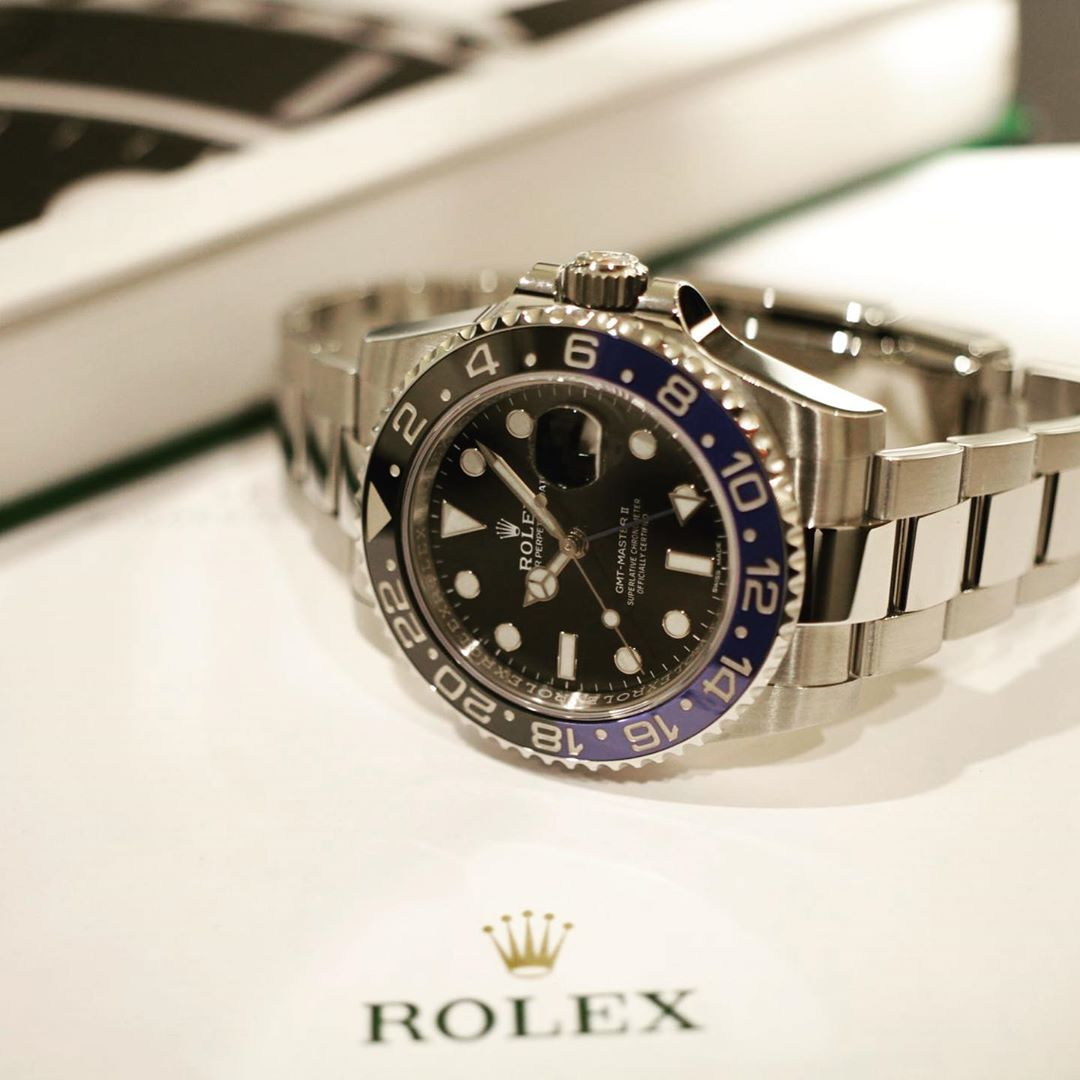 ロレックス GMTマスターII 116710BLNR