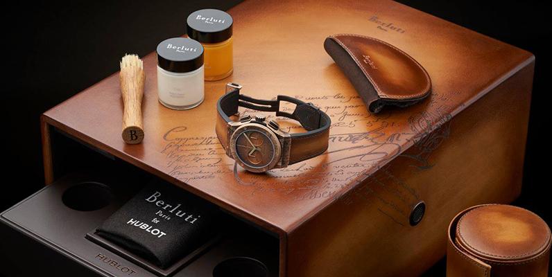 紳士の腕時計 ウブロ×ベルルッティ〜極上の革と最新技術の融合〜