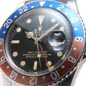 ロレックス GMTマスター 18番 1675 ブラックミラー