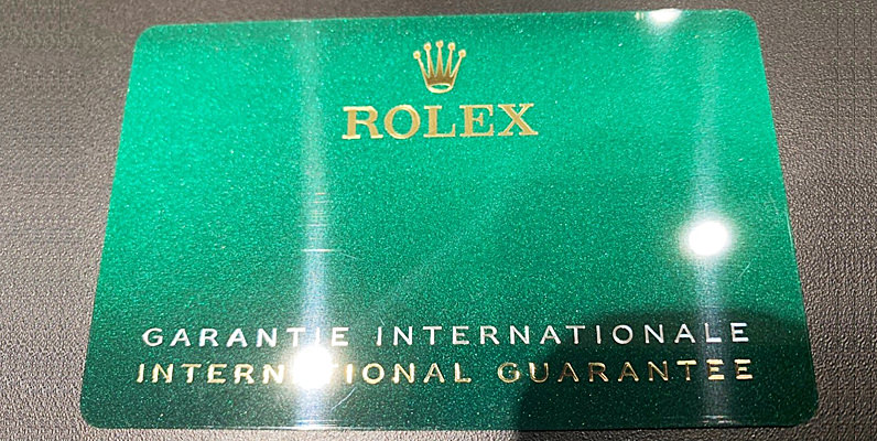 ロレックスの保証書を徹底解説~見方、種類、国番号、買取時の価値、再発行できるの?