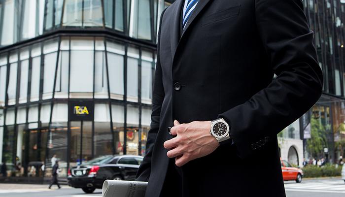 ビジネス スーツ 時計