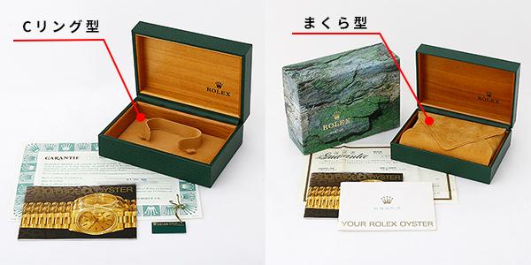 ロレックス 箱 C型 まくら型
