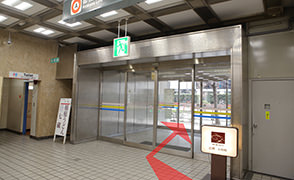 都営浅草線新橋から道順4