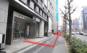 都営浅草線新橋から道順5