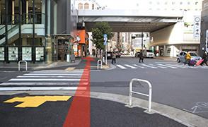 JR新橋から道順5