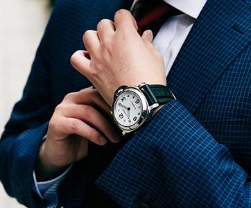自分に似合う時計のサイズとは?時計と腕周りのバランスを写真で確認~メンズ編~