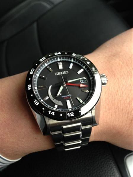 セイコー ブライツ アナンタ GMT SAEA005