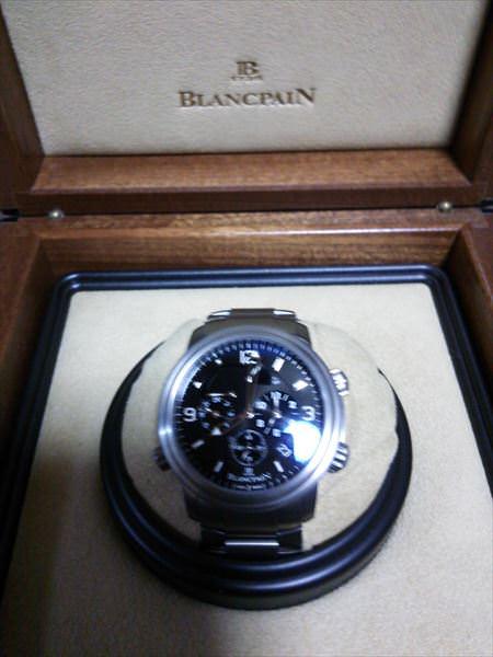ブランパン レマン GMT アラーム 2041-1230-98B