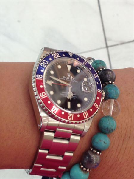 ロレックス GMTマスター 赤青ベゼル 16700 中古 メンズ