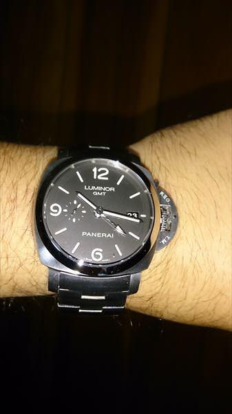 パネライ ルミノール1950マリーナ 3DAYS GMT PAM00329