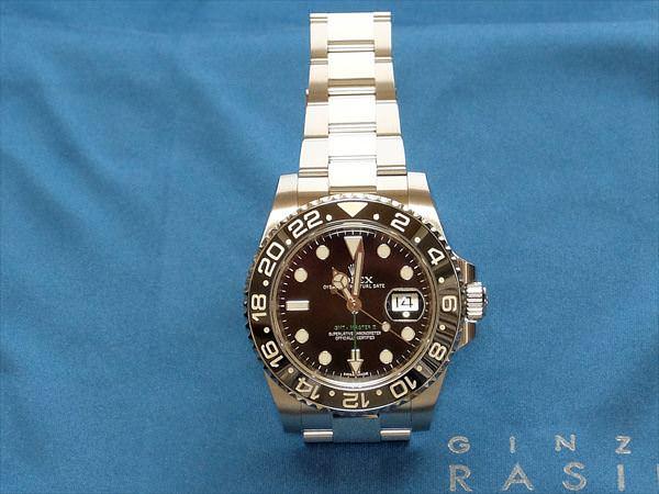 ロレックス GMTマスターII ランダムシリアル 116710LN