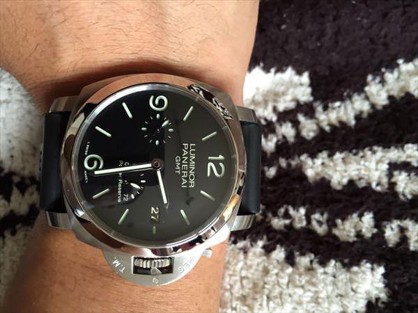 パネライ ルミノール1950 3DAYS GMT PAM00321