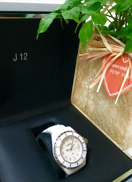 シャネル J12 銀座ブティック5周年限定モデル H2511