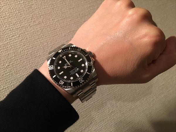 wholesale dealer 1377f b4238 ロレックス サブマリーナ ノンデイト 114060【じん 様 ...